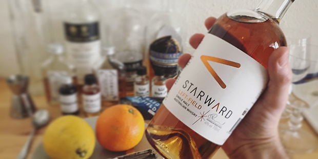 Starward Left-Field Virtual Launch Tasting by Kirsch Import (Single Malt Australian Whisky Red Wine Cask Blog BarleyMania)