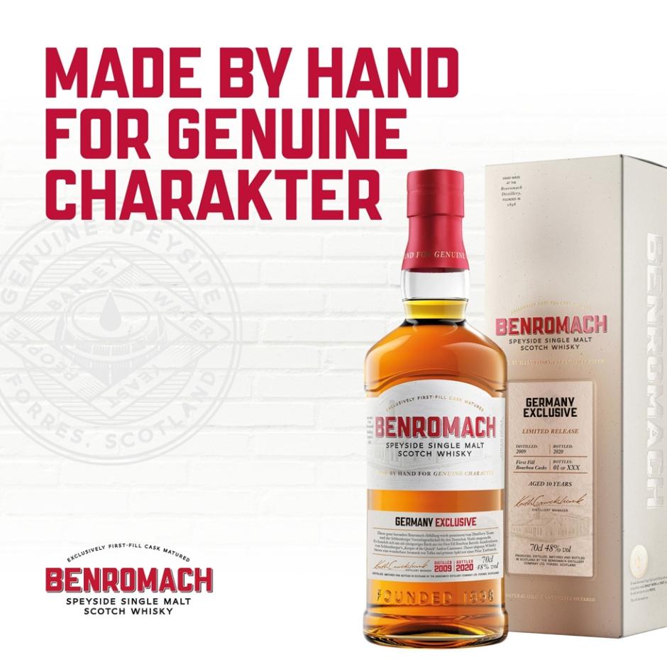 Benromach 11yo Vintage 2009 ex-Bourbon casks for Schlumberger (Single Malt Speyside Scotch Whisky Tasting Notes BarleyMania Blog)