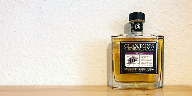 Glen Moray 10yo by Claxton's (Single Malt Speyside Scotch Whisky Bourbon Cask Tasting Notes BarleyMania)