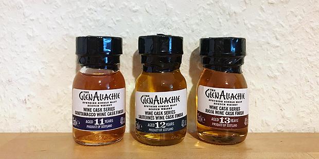 The GlenAllachie Wine Cask Series (Speyside Single Malt Scotch Whisky Oak Tasting Notes BarleyMania)