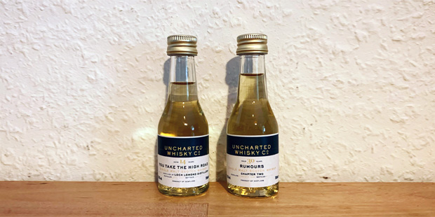 The Uncharted Whisky Co. - Secret Islay 30yo & Loch Lomond 14yo (Independent Single Malt Cask Bottling Tasting Notes BarleyMania)